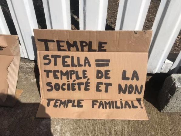 LE TEMPLE DE STELLA MATUTINA SOUS TENSION : DES FIDÈLES PRIVÉS D'ACCÈS
