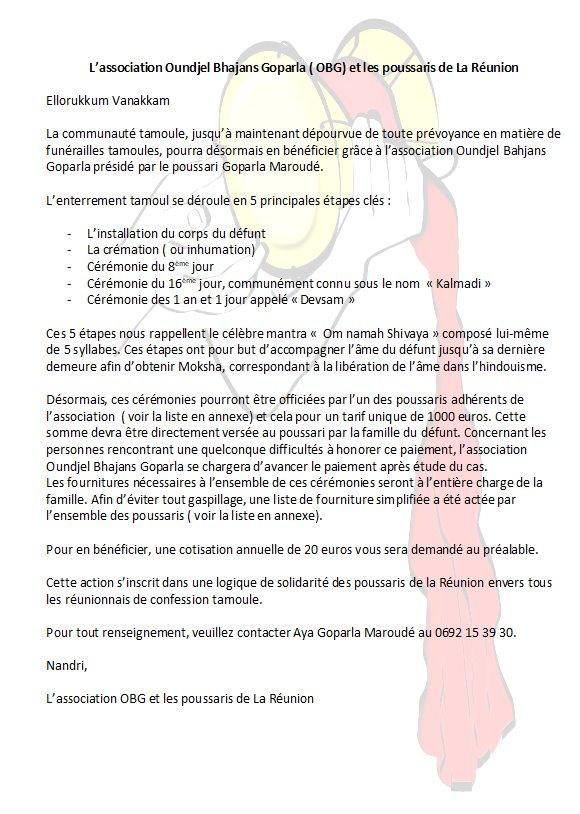 ENTERREMENT OU CRÉMATION HINDOU À LA RÉUNION, C'EST MAINTENANT POSSIBLE !