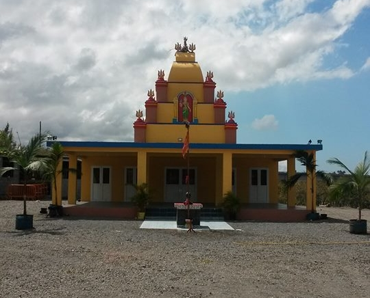Le Temple de Pandialé Rivière Saint-Etienne à Saint-Louis En Danger