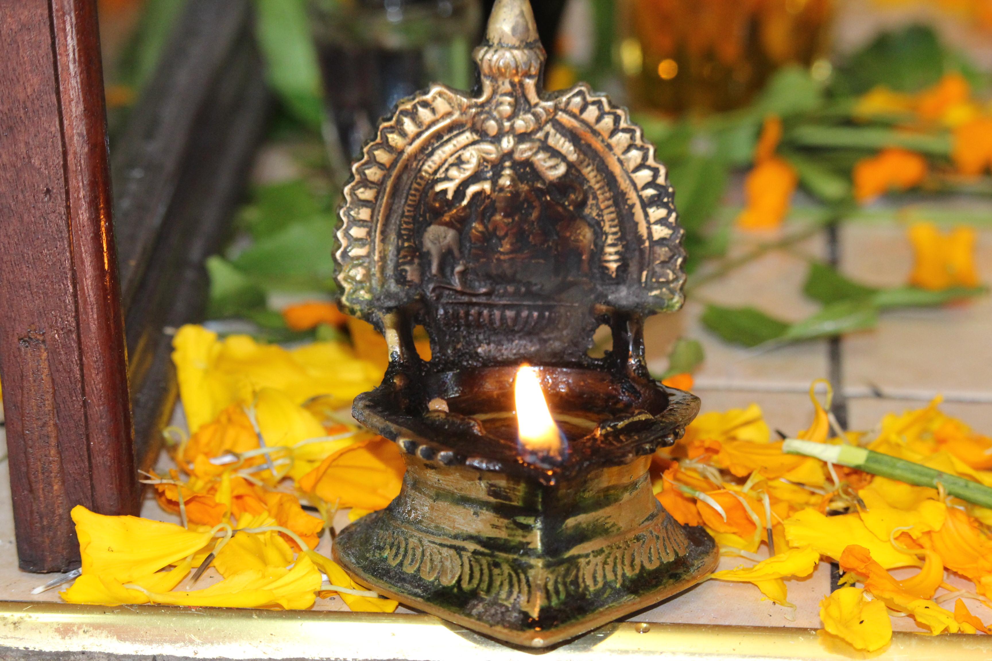 L Importance De La Lampe Dans La Culture Hindoue