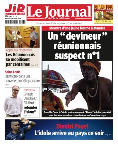 Maurice : Un prêtre malbar réunionnais soupçonné du meurtre d'une jeune femme