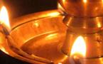 Expérience spirituelle conférée par les lampes à l'huile et au ghee