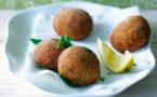 Recette : Boulettes de pois chiches à l'indienne