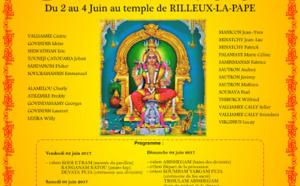 CÉLÉBRÉ LA DÉESSE MARIAMEN AU TEMPLE RILLEUX-LA-PAPE À LYON