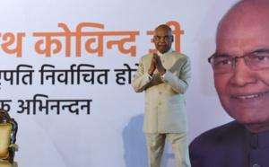 """Un """"intouchable"""" président en Inde : progrès ou trompe-l'œil ?"""