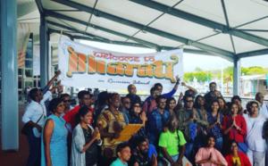 L'équipe de Bharati est arrivée à la Réunion