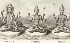 TRIMURTHI : CRÉATEUR, PRESERVER ET DESTRUCTEUR