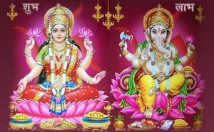POURQUOI LAKSHMI ET GANESH SONT VÉNÉRÉS À DIWALI ?