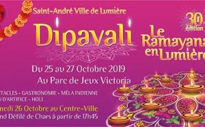 30ÈME EDITION DU DIPAVALI À SAINT-ANDRÉ 'LE RAMAYANA EN LUMIÈRE'
