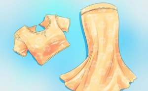 Comment porter un sari à la façon Nivi ?