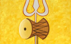 Symbolisme de la Damaru de Shiva : Le petit sablier en forme de tambour
