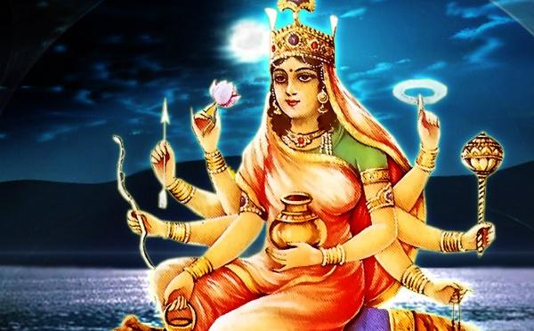 Quatrième jour de Navratri - Maa Kushmanda