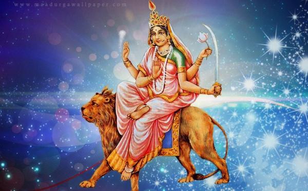 Sixième jour de Navratri - Maa Katyayani