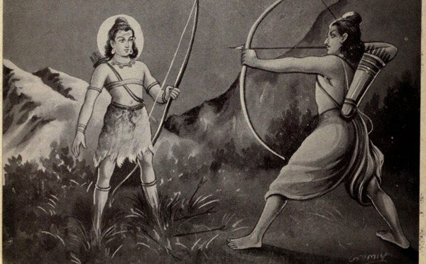 KIRATARJUNIYA : HISTOIRE DE KIRATA (SHIVA COMME CHASSEUR ET ARJUNA)