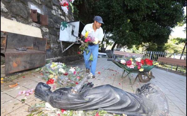 Sainte-Marie: le site de la Vierge Noire vandalisé