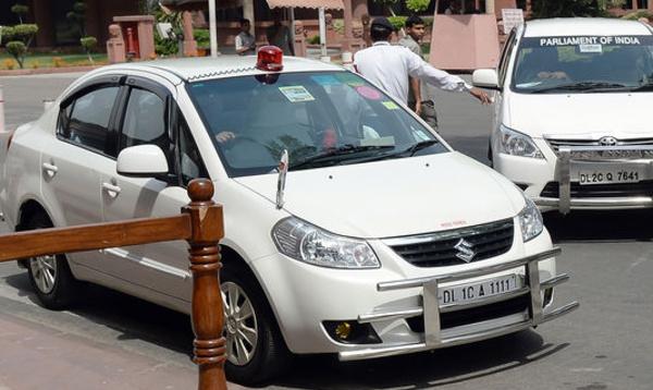 Les ministres indiens interdits de gyrophares