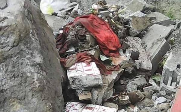 Saint-Joseph : un bloc de 5 tonnes s'écrase sur la chapelle familiale