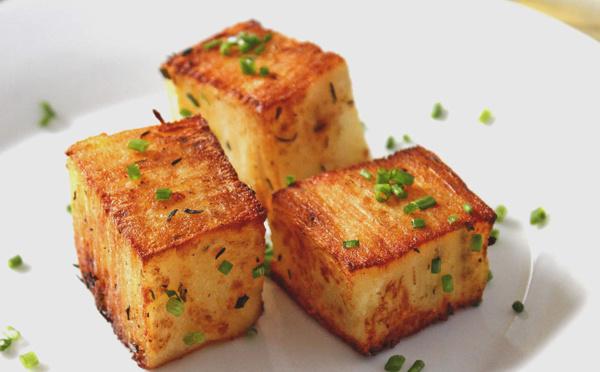 Recette de pavés de pommes de terre