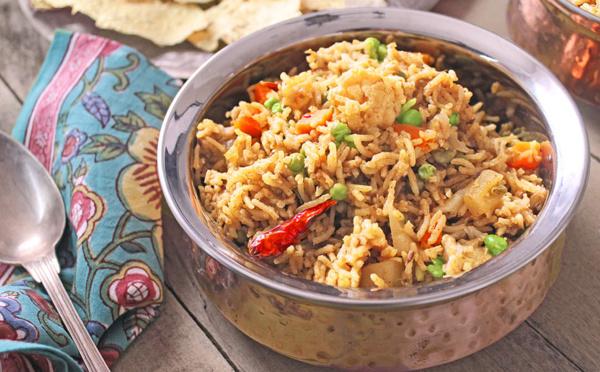Recette de riz pilaf aux légumes