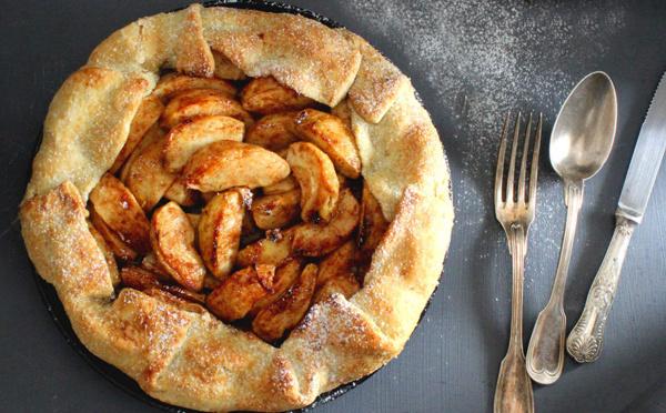 Recette de galette rustique aux pommes