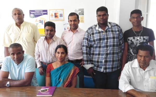 Une nouvelle présidente à la tête de la Fédération tamoule de la Réunion