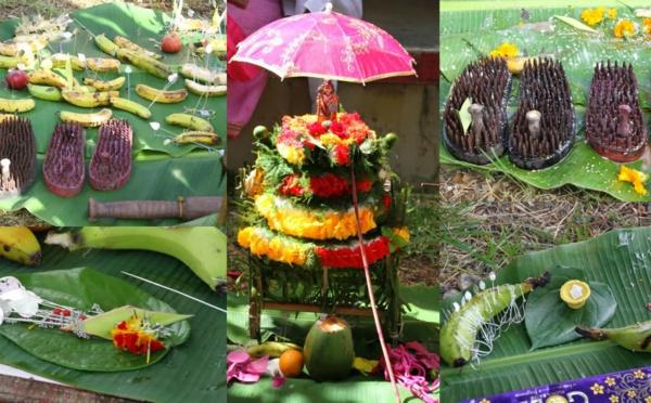 Le cavadee, un hommage au dieu Muruga