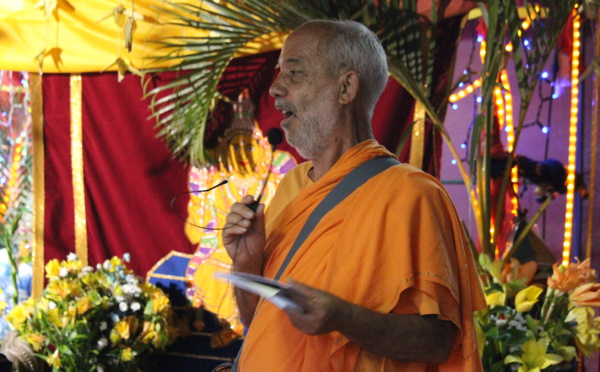 Vœux de Pongal 2016 par Swami Advayananda