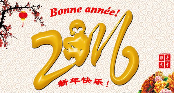 BONNE ANNÉE A LA COMMUNAUTÉ CHINOISE - L'ANNÉE DU SINGE