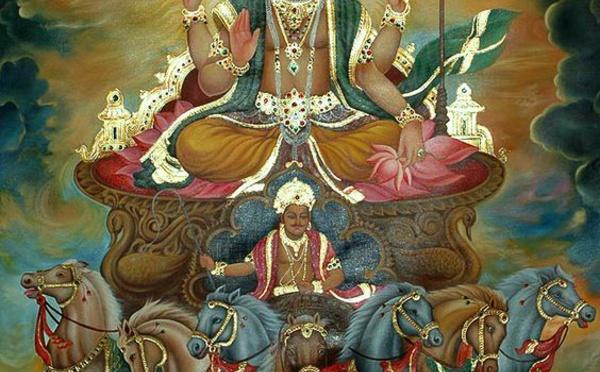 Srî Sûrya Narayana : le dieu soleil de l'hindouisme