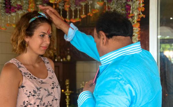 Le Bindi, symbole de l'Inde
