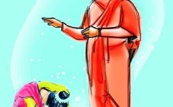 Pourquoi les Indiens se prosternant ou s'incliner devant les parents et les aînés ?