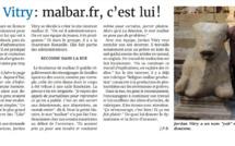 MALBAR.FR DANS LE JOURNAL DE L'ÎLE DE LA RÉUNION (JIR) DU VENDREDI 15 AVRIL